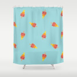 Summer is over Shower Curtain