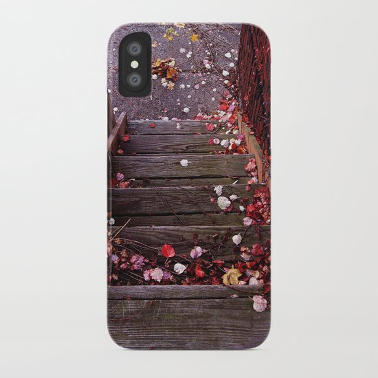 Autumn Stairs iPhone Case
