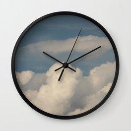 rain · sky Wall Clock