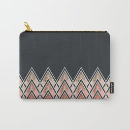Pink Déco Mountains #society6 #buyart Carry-All Pouch