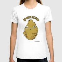 potato T-shirts featuring POTATO  by Michelena