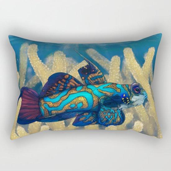 Mandarinfish Rectangular Pillow
