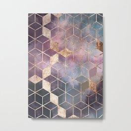 Petrol in a Rain Puddle Metal Print