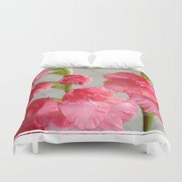 Gladiolus Scape 2 Duvet Cover