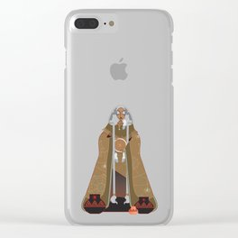 Grandmother Spider Clear iPhone Case