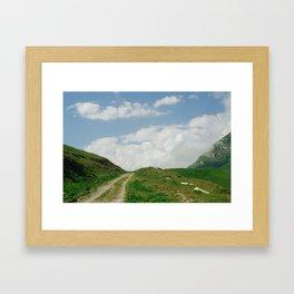 The way Framed Art Print