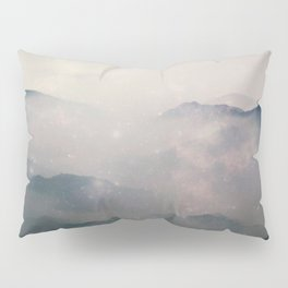 Mountain Nebulas Pillow Sham