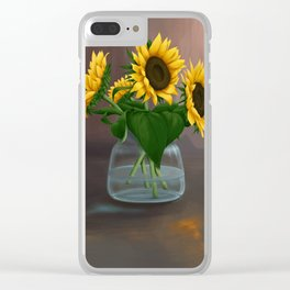 Happy Birthday, Vincent! Clear iPhone Case
