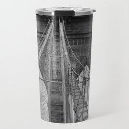 Bridge Manhattan   Brooklyn Travel Mug