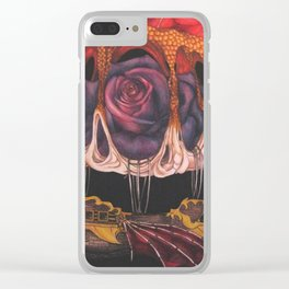 The Airship of a Madman Clear iPhone Case