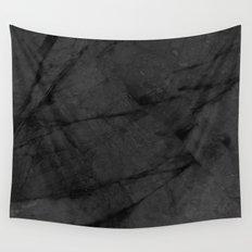 Dark Grey Marble Wall Tapestry
