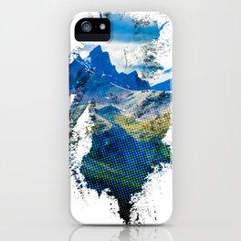 Jasper Half tone iPhone Case