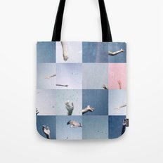 without saying goodbye Tote Bag