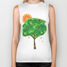 Be Like A Tree Biker Tank