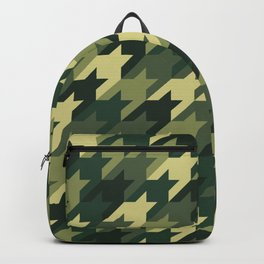 Camouflage houndstooth Backpack