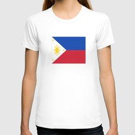 Flag of Philippines -Pilipinas,Filipinas,filipino,pinoy,pinay,Manila,Quezon T-shirt