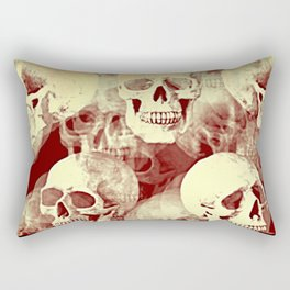 Spooky Skulls bywhacky Rectangular Pillow