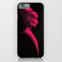 Red Cameo iPhone Case