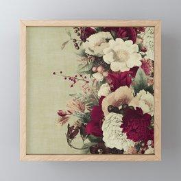 Vintage Flora 3 Framed Mini Art Print