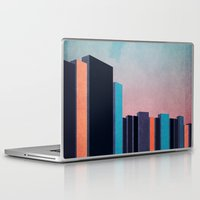 skyline Laptop & iPad Skins featuring Skyline by Liall Linz