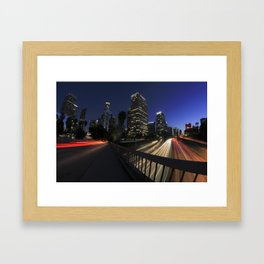 Los Angeles Nights Framed Art Print