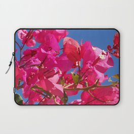 Bougainville in pink Laptop Sleeve