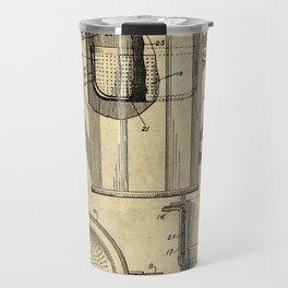 Coffee Pot Blueprint Travel Mug