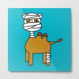 Bandage Camel Metal Print