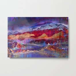 The Annapurna Circuit Metal Print