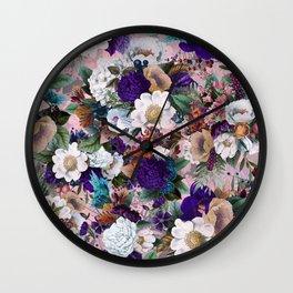 Ethereal Garden II Wall Clock
