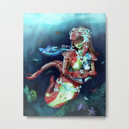 Mermay Mipha Metal Print