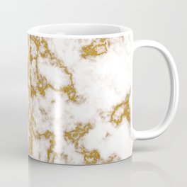 Luxury Gold Marble Coffee Mug