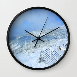 Winter day 20 Wall Clock