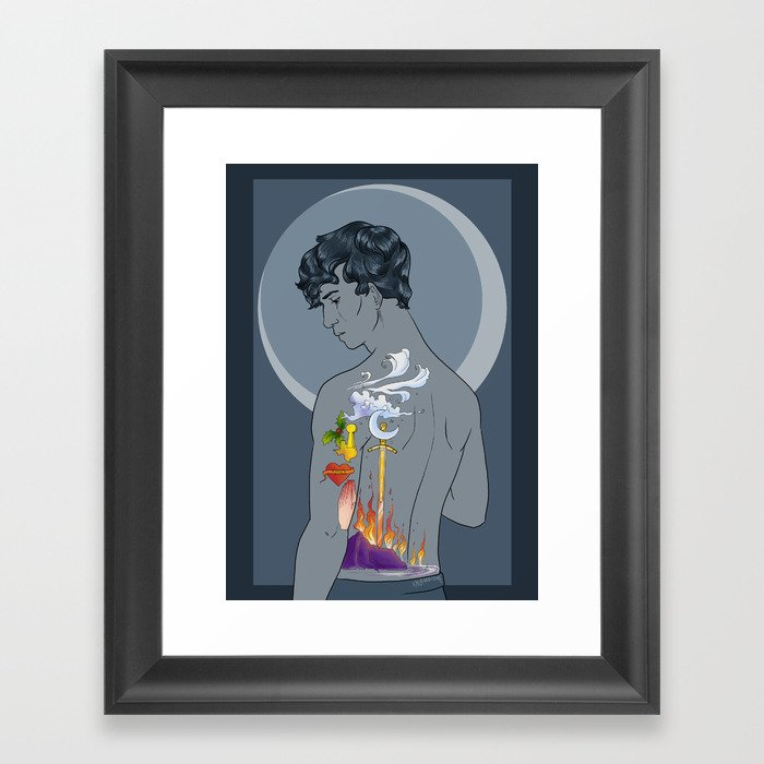 Tattoos Framed Art Print