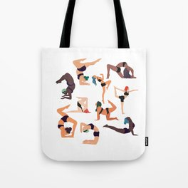 Let's all do yoga Tote Bag