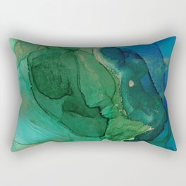Ocean gold Rectangular Pillow