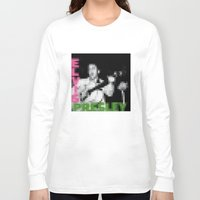 elvis presley Long Sleeve T-shirts featuring Elvis Presley - Elvis Presley - Pixel Cover by Stuff.