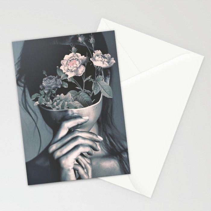 inner garden Stationery Cards
