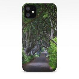 Dark Hedges, Northern Ireland. iPhone Case