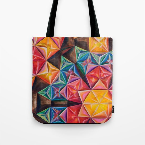 Shape Emanation Tote Bag