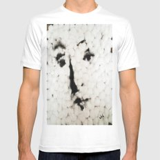 VENUS IN COTTONS MEDIUM Mens Fitted Tee White