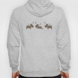 Moose Forest Pattern Hoody