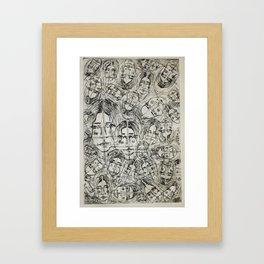 Zheng Framed Art Print