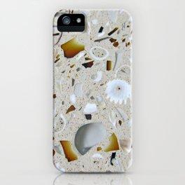 Seashells in stone - minimalist photography iPhone Case