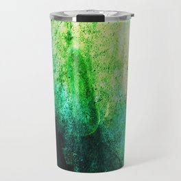 STORMY MINT AND GREEN v2 Travel Mug