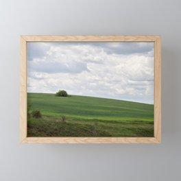 Lonely tree Framed Mini Art Print