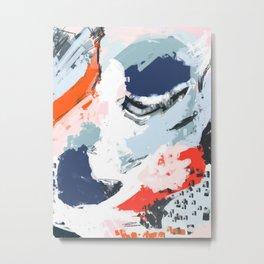 Abstract Color Pop Metal Print
