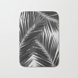 Palm Leaf Black & White III Bath Mat