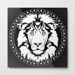 Masai Maharajah Metal Print