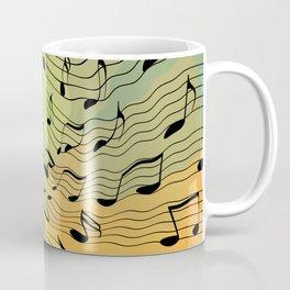 Music notes II Coffee Mug